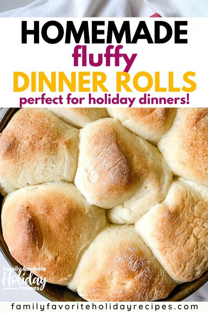 pan of homemade dinner rolls