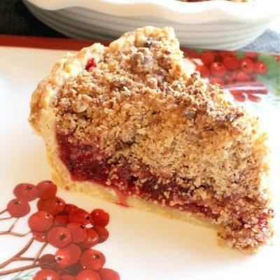 Festive Cranberry Pie