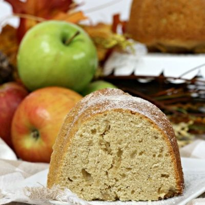 Apple Cider Bundt Cake
