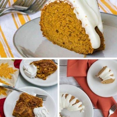 Pumpkin Dessert Recipes Using Cake Mix